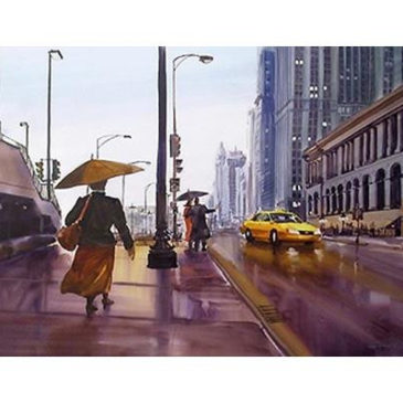Purchase David Becker's Watercolors of Chicago