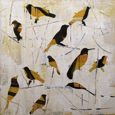 birds fine art painting